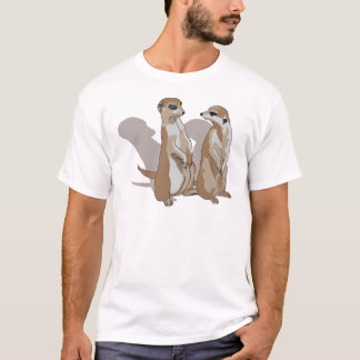 Camiseta dois Erdmännchen com sombras