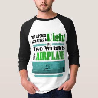 Camiseta Dois erros não fazem um direito
