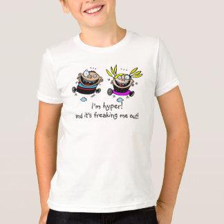 Camiseta Dois miúdos Hyper