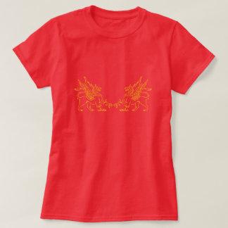Camiseta Dois ouro Griffons