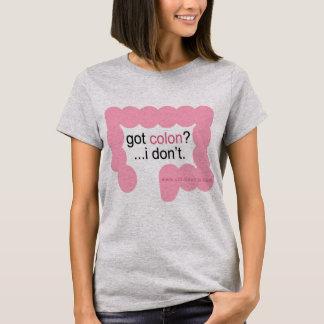 Camiseta dois pontos obtidos? … eu não faço. t-shirt