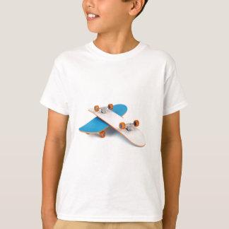 Camiseta Dois skates