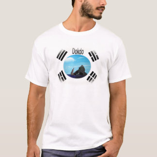 Camiseta Dokdo é bonito -