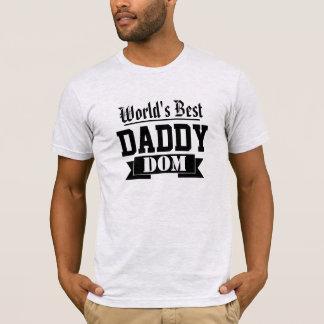 Camiseta DOM do pai do mundo os melhores
