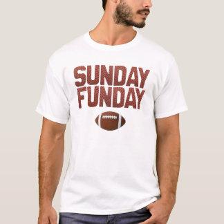 Camiseta Domingo Funday - edição do futebol