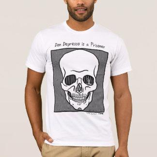 Camiseta Don Depresso é um prisioneiro