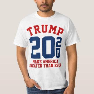 Camiseta Donald Trump 2020 faz América maior do que nunca