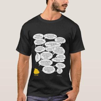 Camiseta Donald Trump diz o que pensa.  Infelizmente