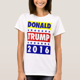 Camiseta Donald Trump para o T 3 do presidente 2016