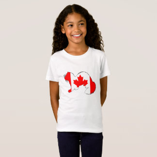 Camiseta Doninha Canadá