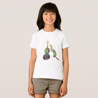 Camiseta Doninha e saxofone