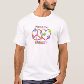 Camiseta Doninhas do amor da paz