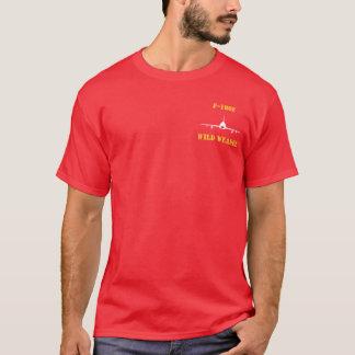 Camiseta Doninhas selvagem W/Callsign do RATO F-100F