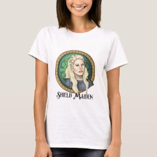 Camiseta Donzela do protetor de Viking