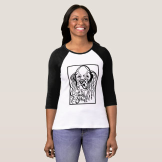 Camiseta Doodle do cão de cocker spaniel