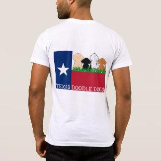 Camiseta Doodle do preto do bolso T de TDD