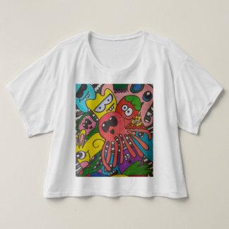 Camiseta Doodled acima do T