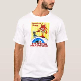 Camiseta Dor de cabeça de rachadura