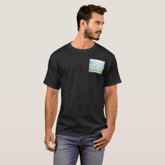 Camiseta d'Orcia de Val, o t-shirt escuro básico dos homens