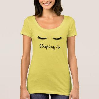 """Camiseta """"Dormindo"""" no gráfico"""