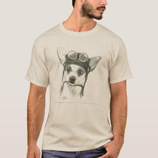 Camiseta Dory o ás de vôo de ChiWee (chihuahua minúscula)