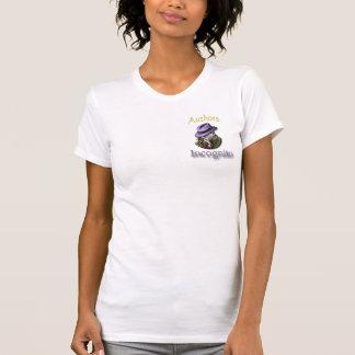 Camiseta Dos autores o MED das camisa-Mulheres em incógnito