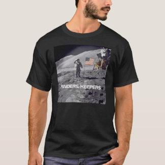 """Camiseta Dos """"camiseta do walksalute da lua de Apollo dos"""