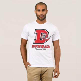 Camiseta Dos homens carmesins da maré de Dunbar o t-shirt
