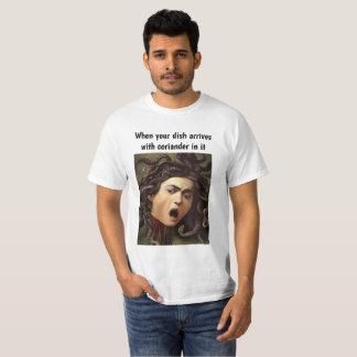 """Camiseta Dos homens clássicos do """"coentro"""" da arte de"""
