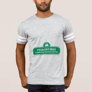 Camiseta Dos homens de ondulação do logotipo de Peachtree