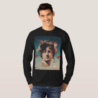 Camiseta Dos homens estéticos da estátua de Vaporwave
