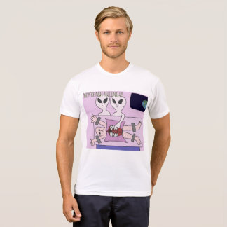 Camiseta Dos homens estrangeiros da abducção de