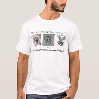 Camiseta Dos homens históricos dos emblemas de Collegio