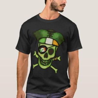 Camiseta Dos homens irlandeses engraçados do crânio do dia