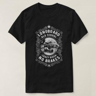 Camiseta Dos homens loucos do cavaleiro de Longboard o