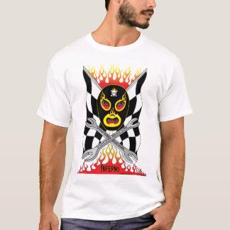 Camiseta Dos homens mexicanos do lutador de Luchador do
