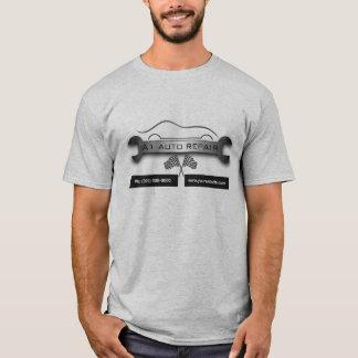 Camiseta Dos homens móveis da reparação de automóveis do