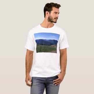 Camiseta Dos homens olímpicos do parque nacional de Ridge