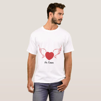 Camiseta Dos homens tee para sempre