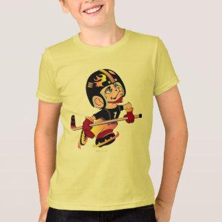 Camiseta Dos miúdos ESTRANGEIROS dos DESENHOS ANIMADOS do