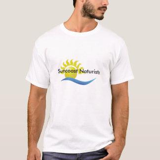 Camiseta ` dos naturistas de Suncoast