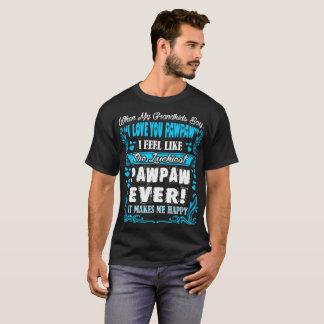 Camiseta Dos netos eu te amo do Pawpaw o Tshirt o mais
