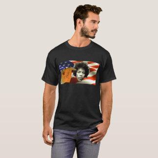 Camiseta dos patriotas da música das guitarra do
