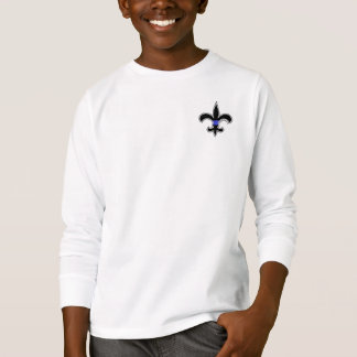 Camiseta Dos santos finos de Blue Line da flor de lis parte