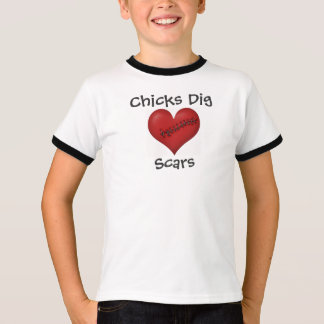 """Camiseta Dos """"t-shirt das cicatrizes da escavação"""