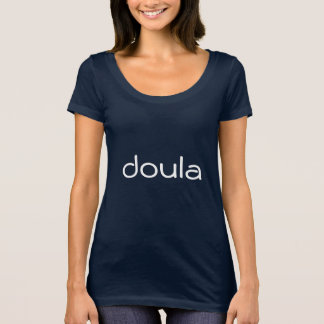 Camiseta Doula - seja lá seja amável têm as mãos mornas