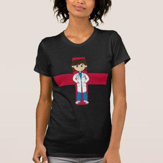 Camiseta Doutor bonito Caráter T-shirt