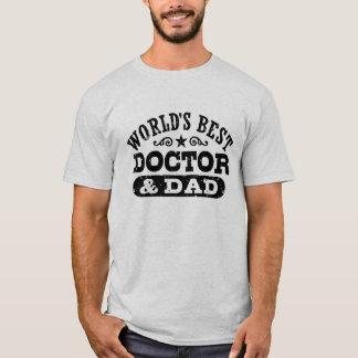 Camiseta Doutor e o pai do mundo o melhor