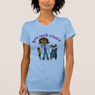 Camiseta Doutor escuro Menina