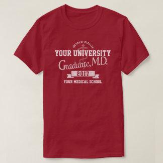 Camiseta Doutor Graduação Graduação T-shirt da Faculdade de